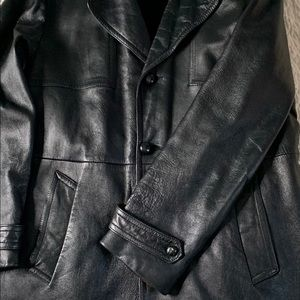 Vintage 70s Leather Coat